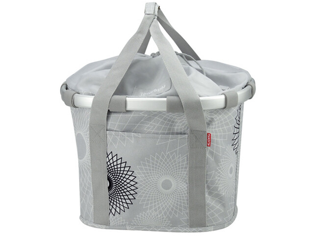 KlickFix Reisenthel Fietsmand, crystals-light grey